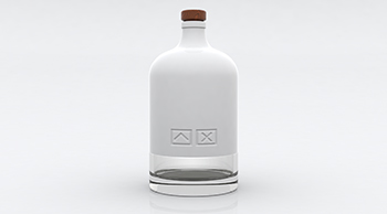 3D-Render bottle